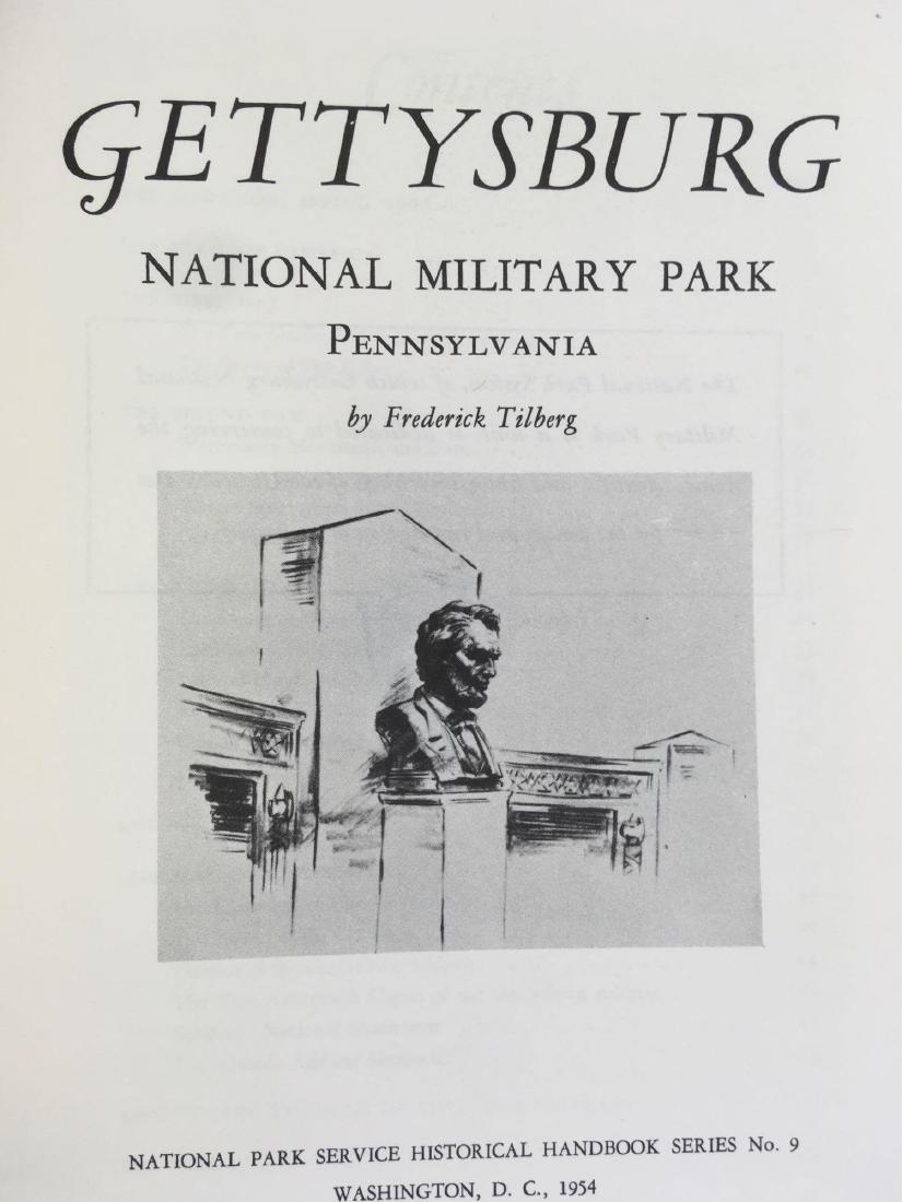 Vintage National Park Service Booklets Gettysburg and - 5