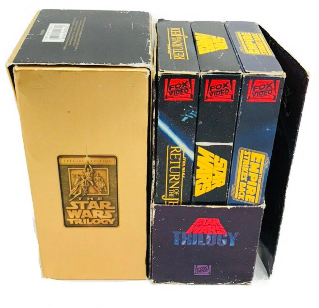 2 Star Wars Trilogy VHS Sets 1992 1997