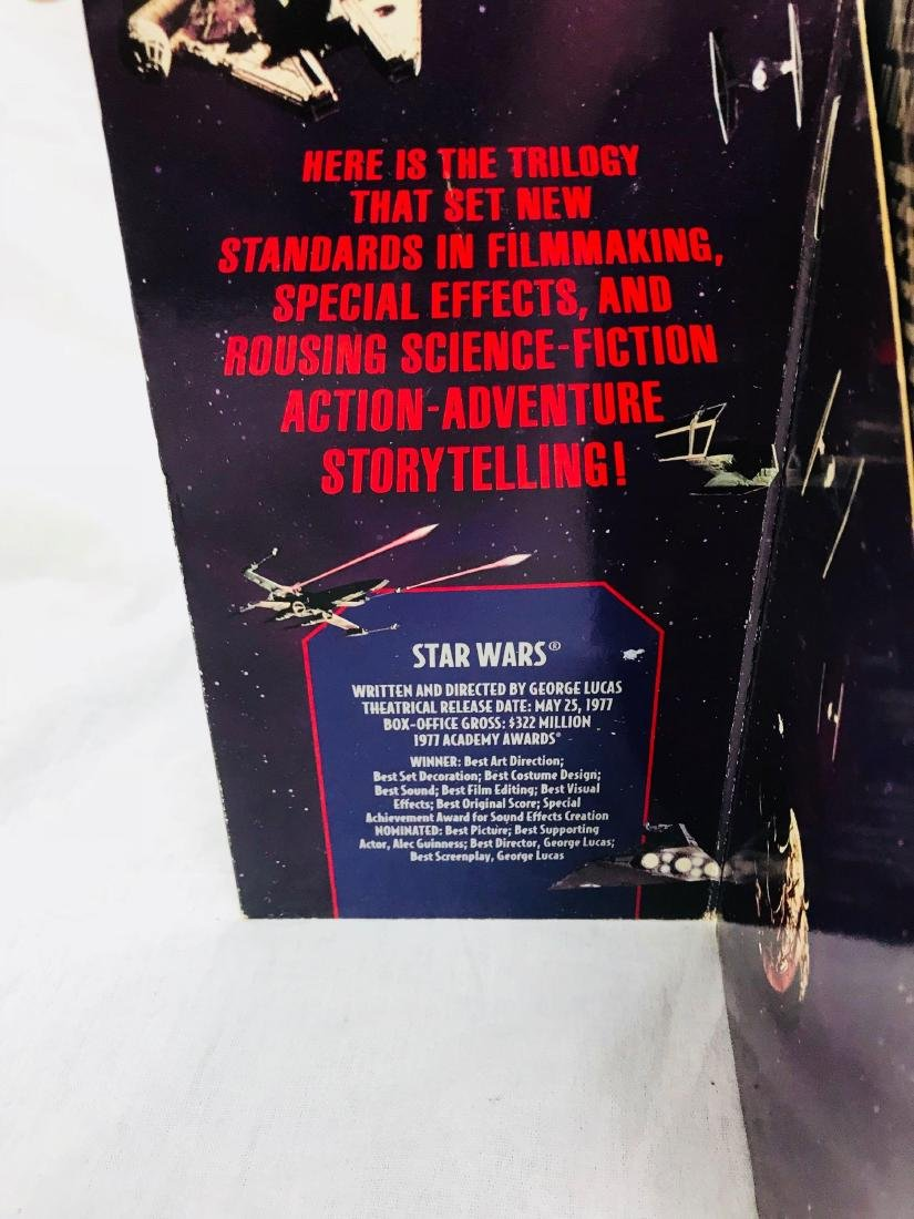 2 Star Wars Trilogy VHS Sets 1992 1997 - 5