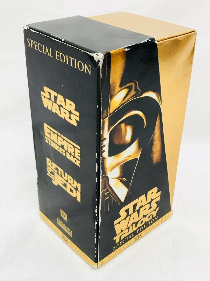 2 Star Wars Trilogy VHS Sets 1992 1997 - 8