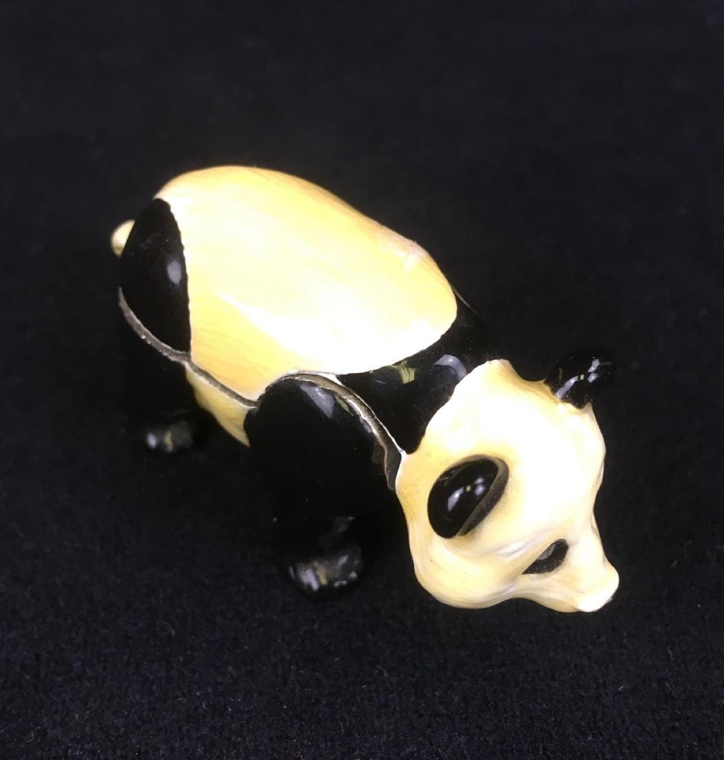 Monet Panda Trinket Pill Box