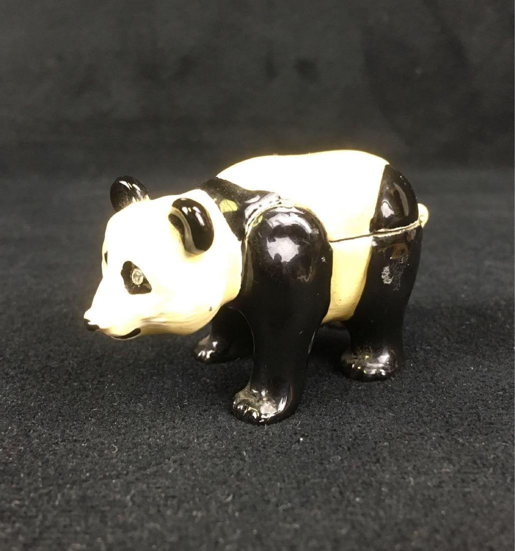 Monet Panda Trinket Pill Box - 3