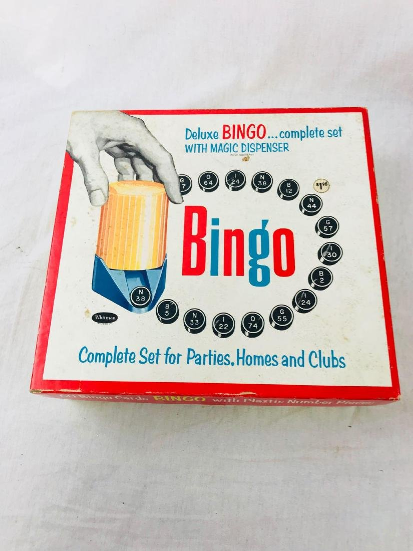 Vintage Deluxe Bingo Game with Magic Dispenser, by - 4