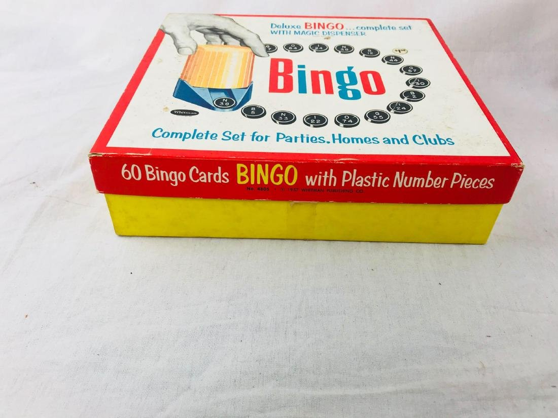Vintage Deluxe Bingo Game with Magic Dispenser, by - 5