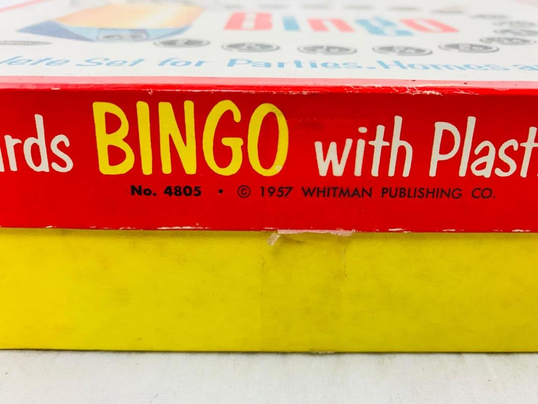 Vintage Deluxe Bingo Game with Magic Dispenser, by - 6