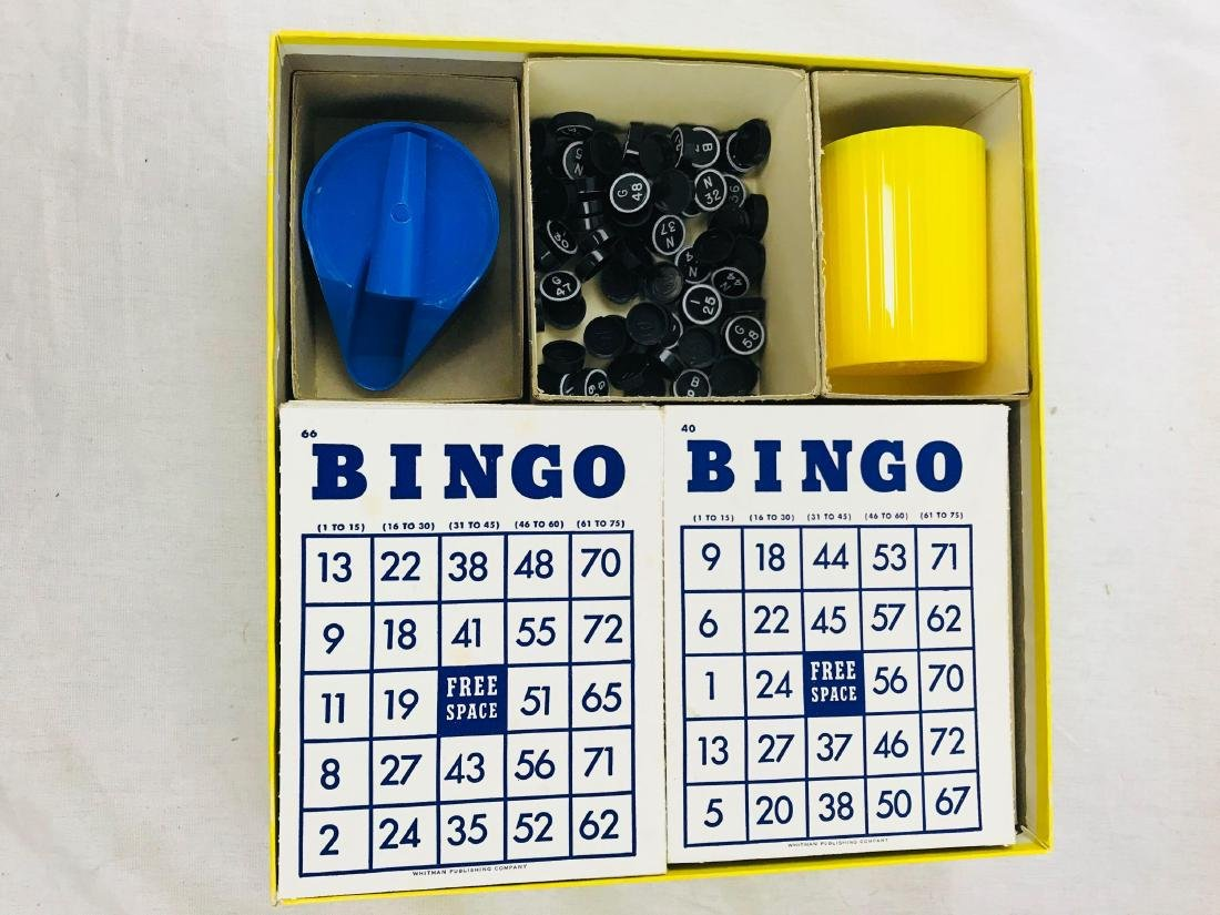 Vintage Deluxe Bingo Game with Magic Dispenser, by - 7