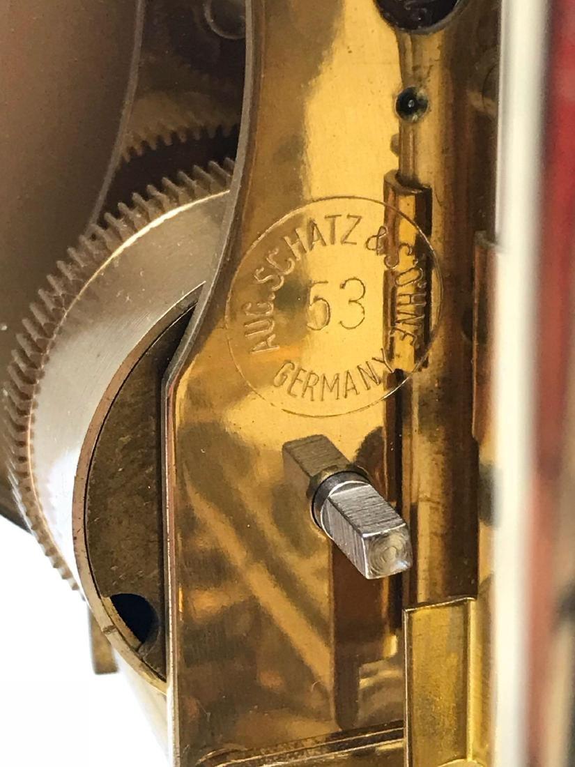 Schatz London Coach Anniversary Clock - 10