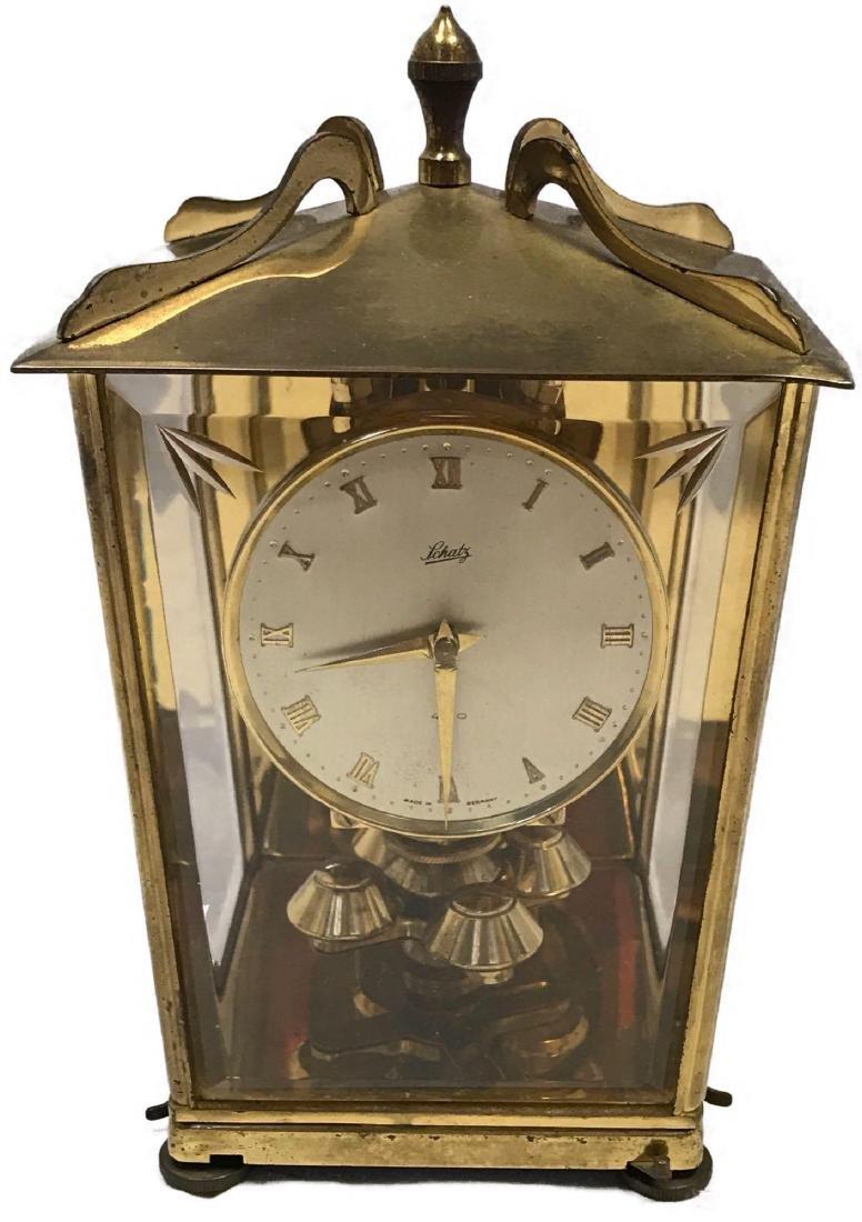 Schatz London Coach Anniversary Clock