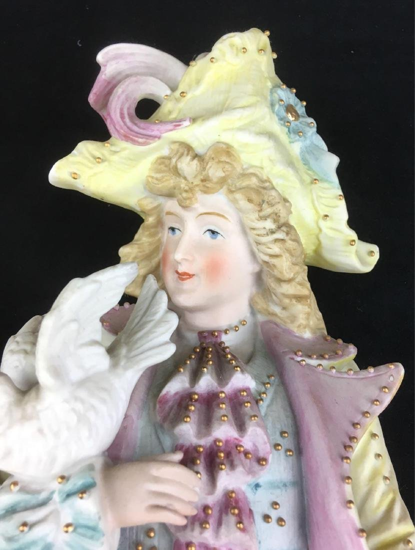 Vintage Bisque Courting Figurines - 4