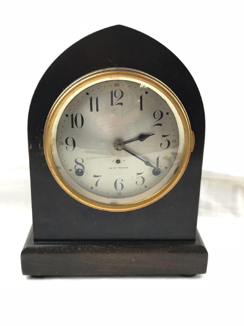 Antique Seth Thomas Cathedral Style Mantle Clock