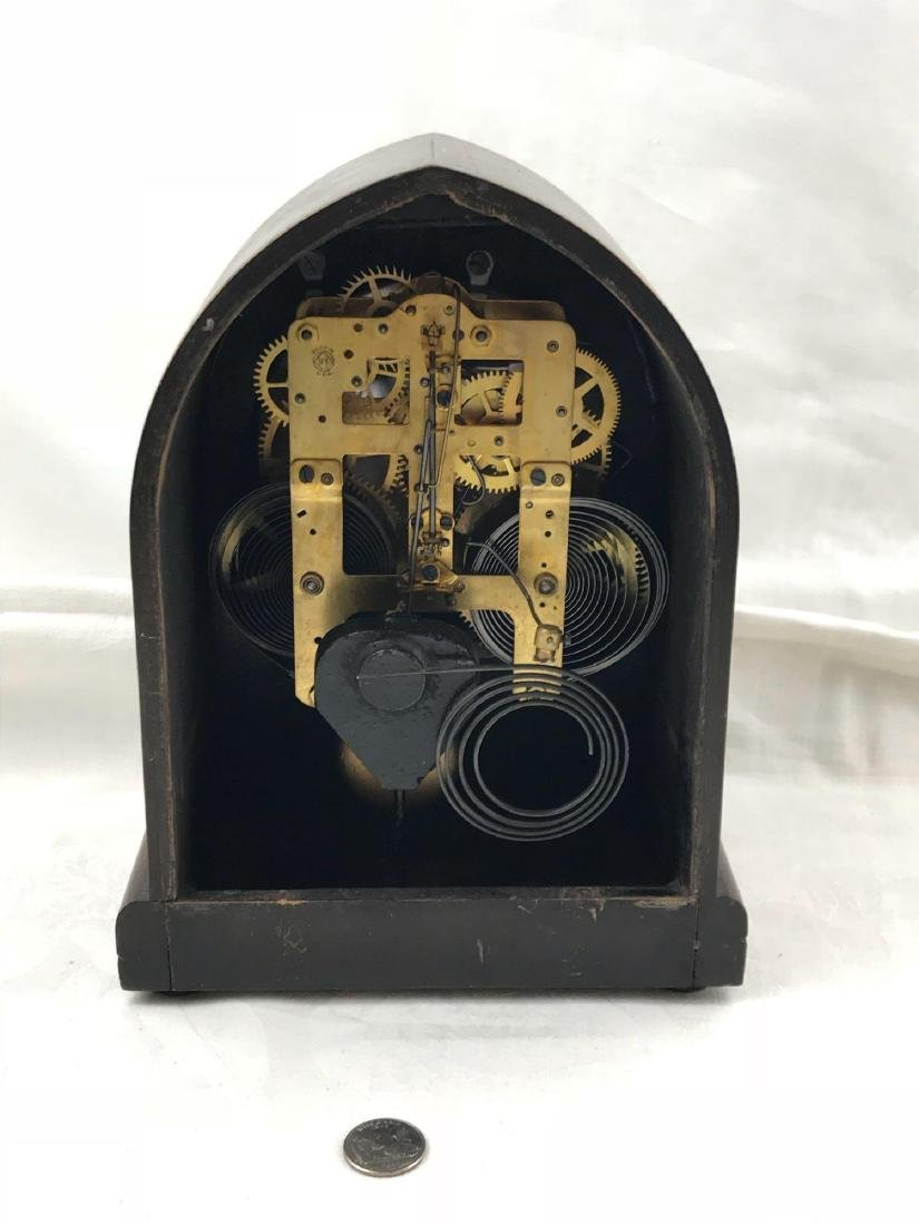 Antique Seth Thomas Cathedral Style Mantle Clock - 3