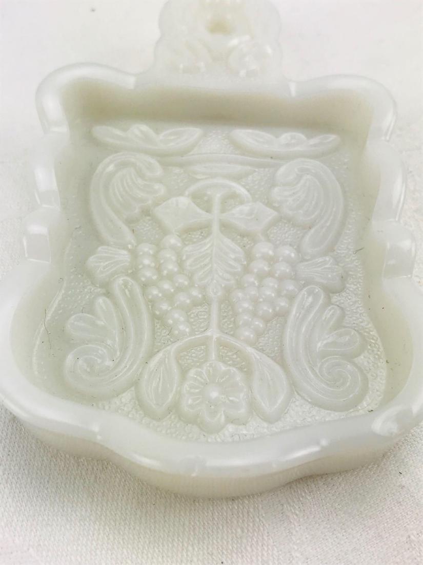 Imperial Milk Glass Trivet - 2