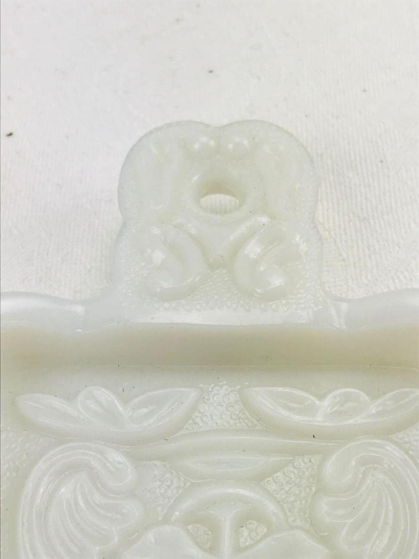Imperial Milk Glass Trivet - 3