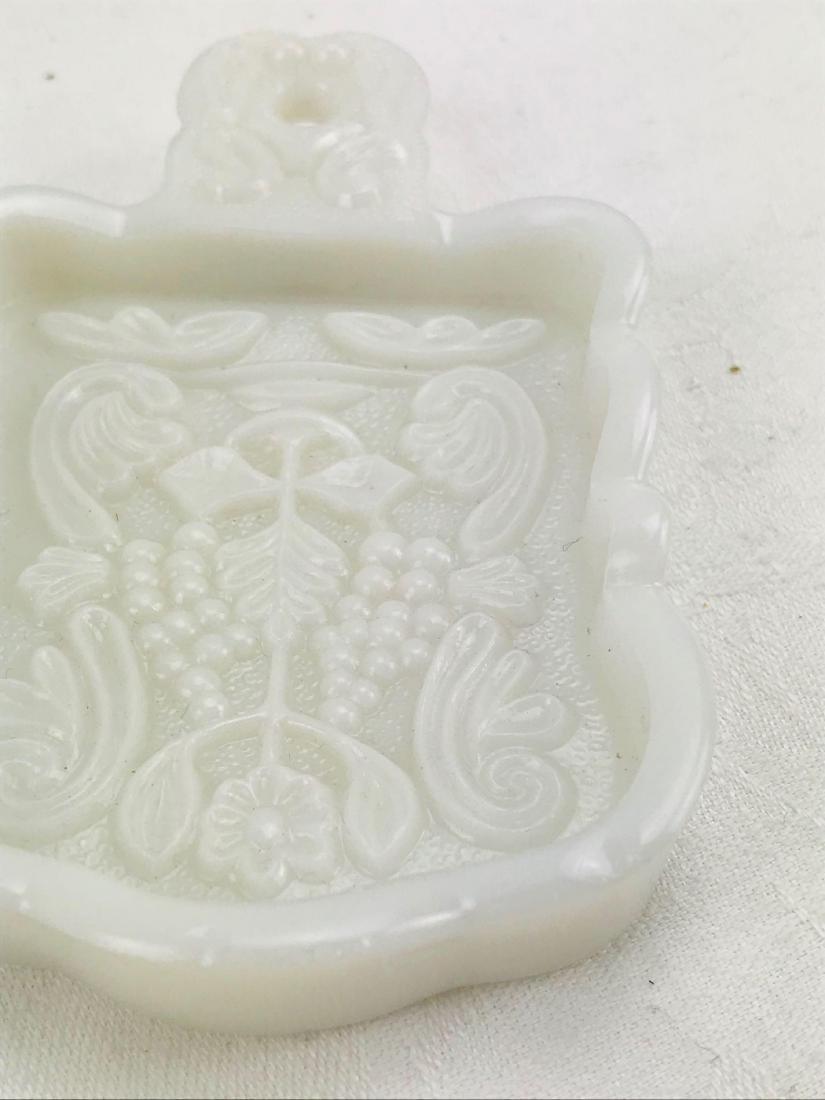Imperial Milk Glass Trivet - 4