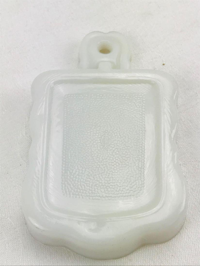 Imperial Milk Glass Trivet - 5