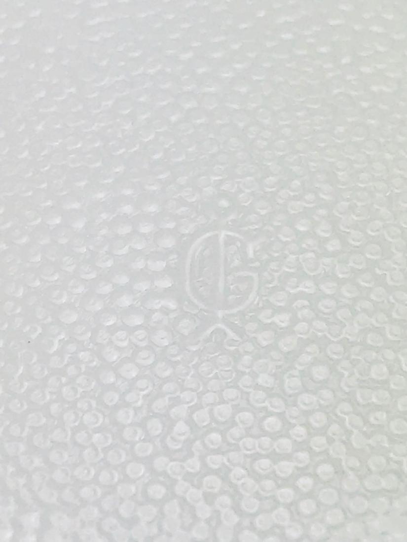 Imperial Milk Glass Trivet - 6