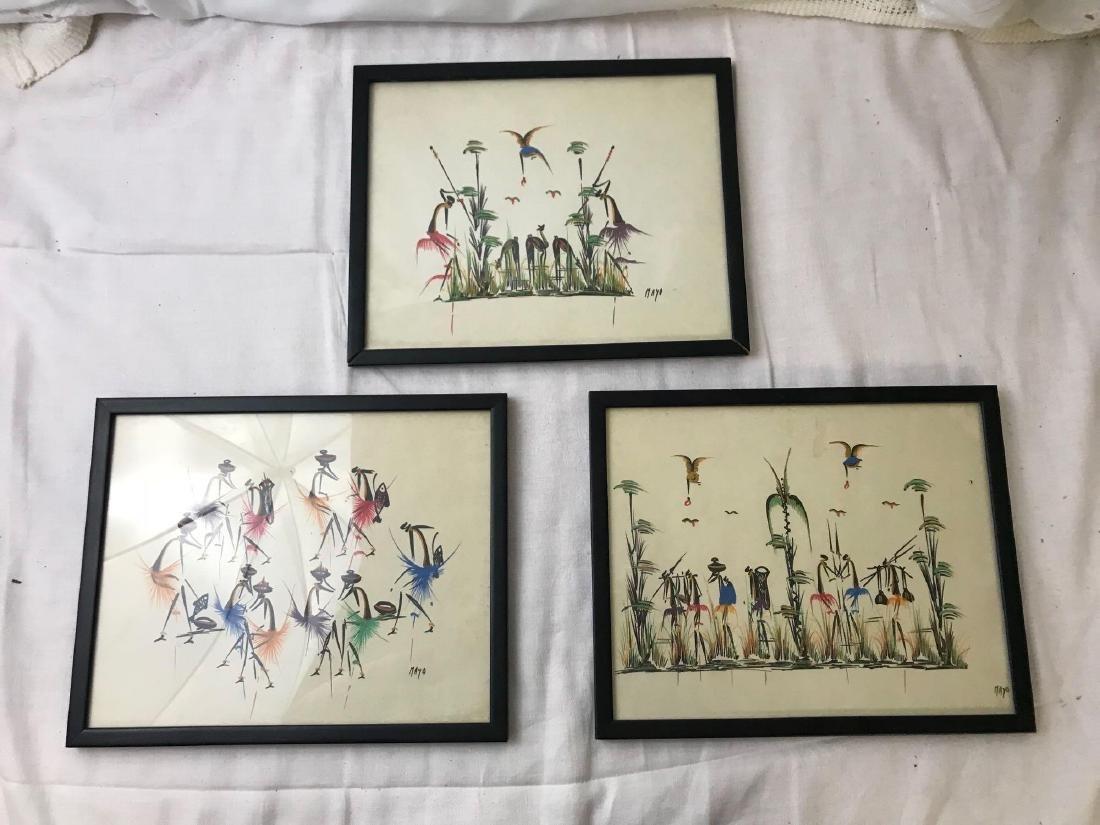Mid Century Tribal African Art Series