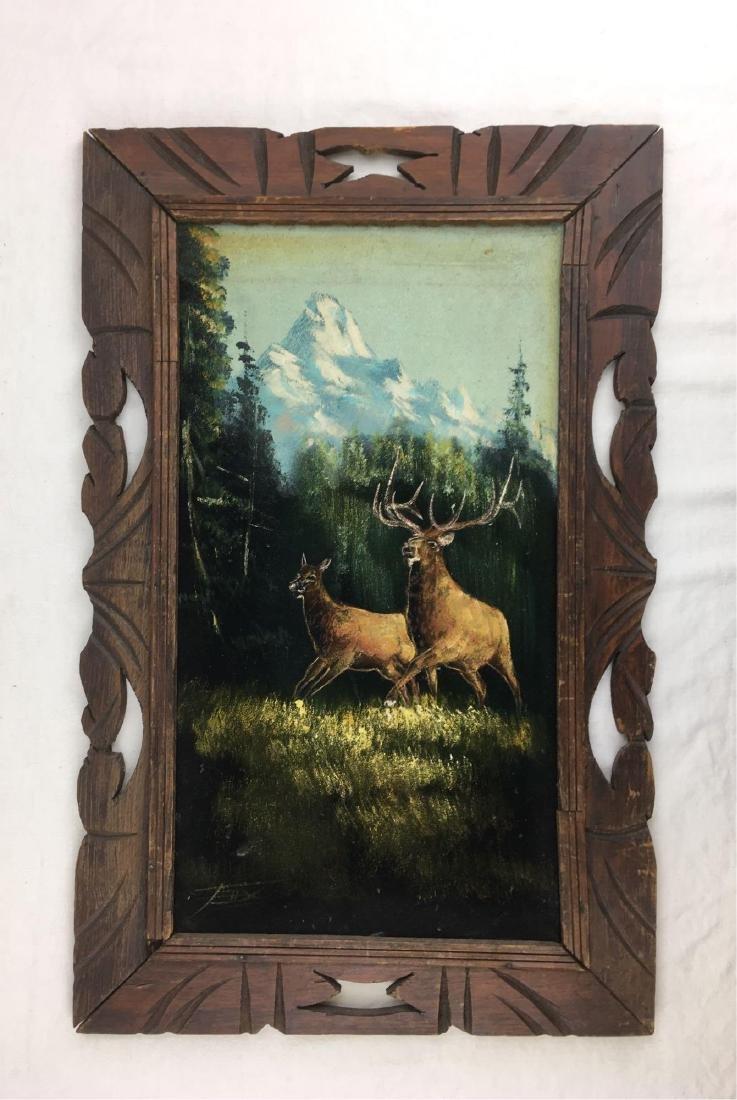 Original Painting, Acrylic on Canvas, Rocky Mountain