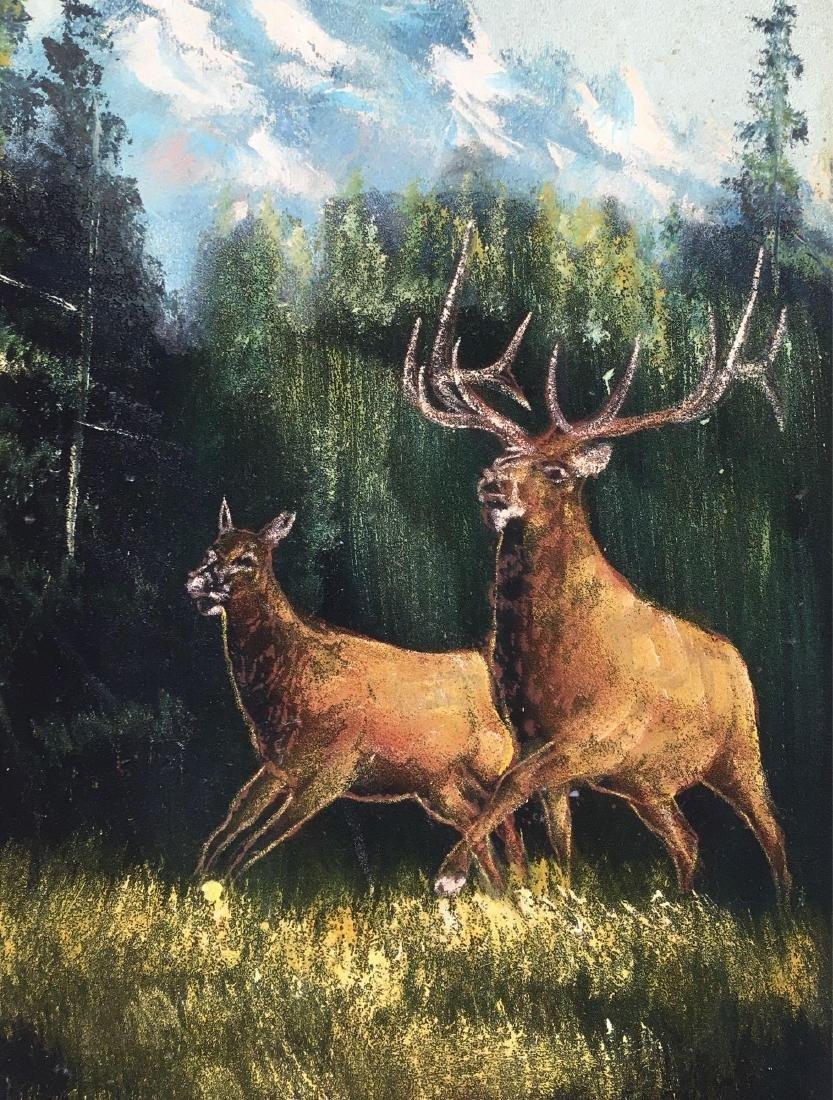 Original Painting, Acrylic on Canvas, Rocky Mountain - 2