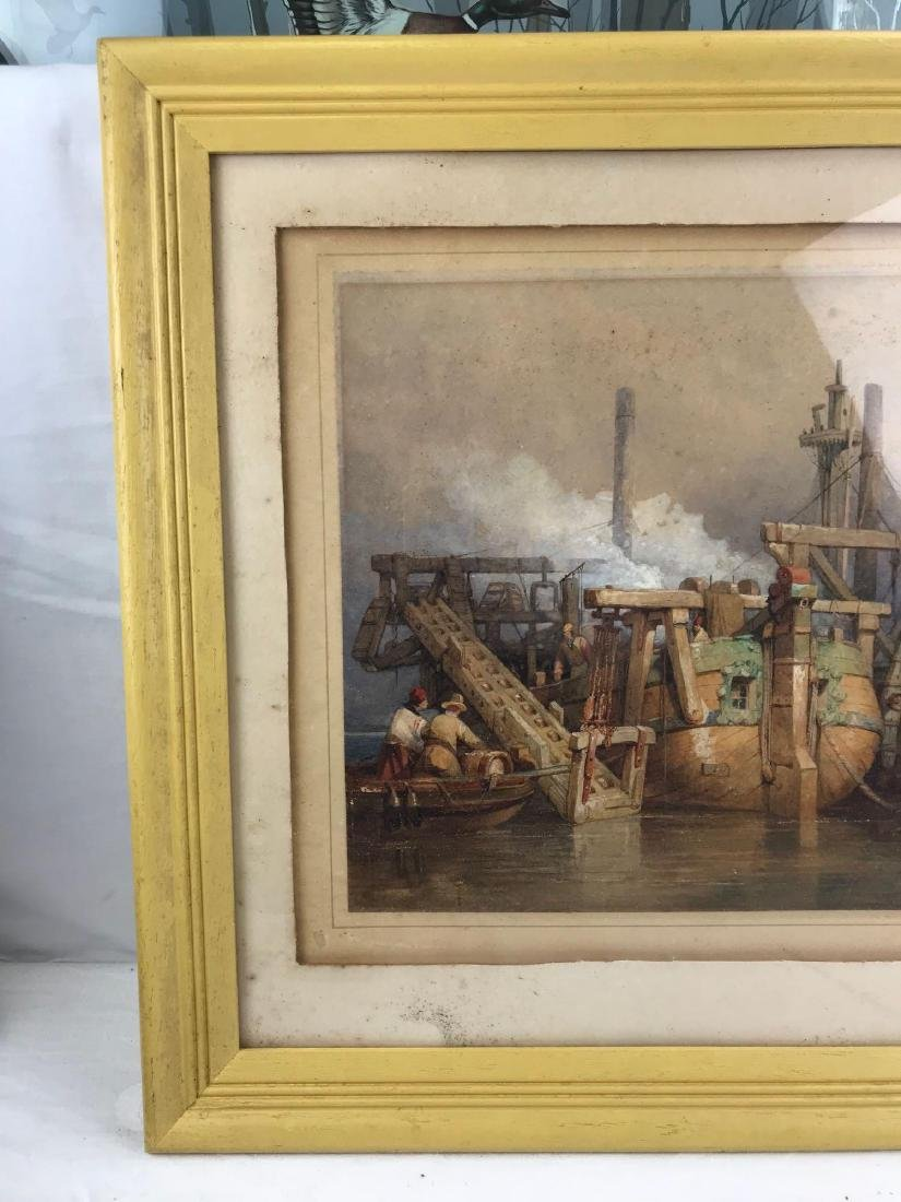 Original Clarkson Frederick Stanfield Watercolor - 2