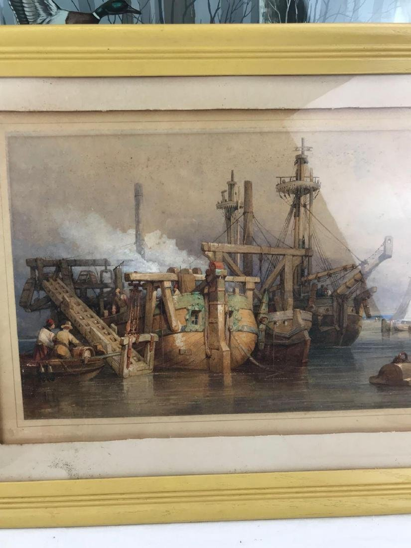 Original Clarkson Frederick Stanfield Watercolor - 3