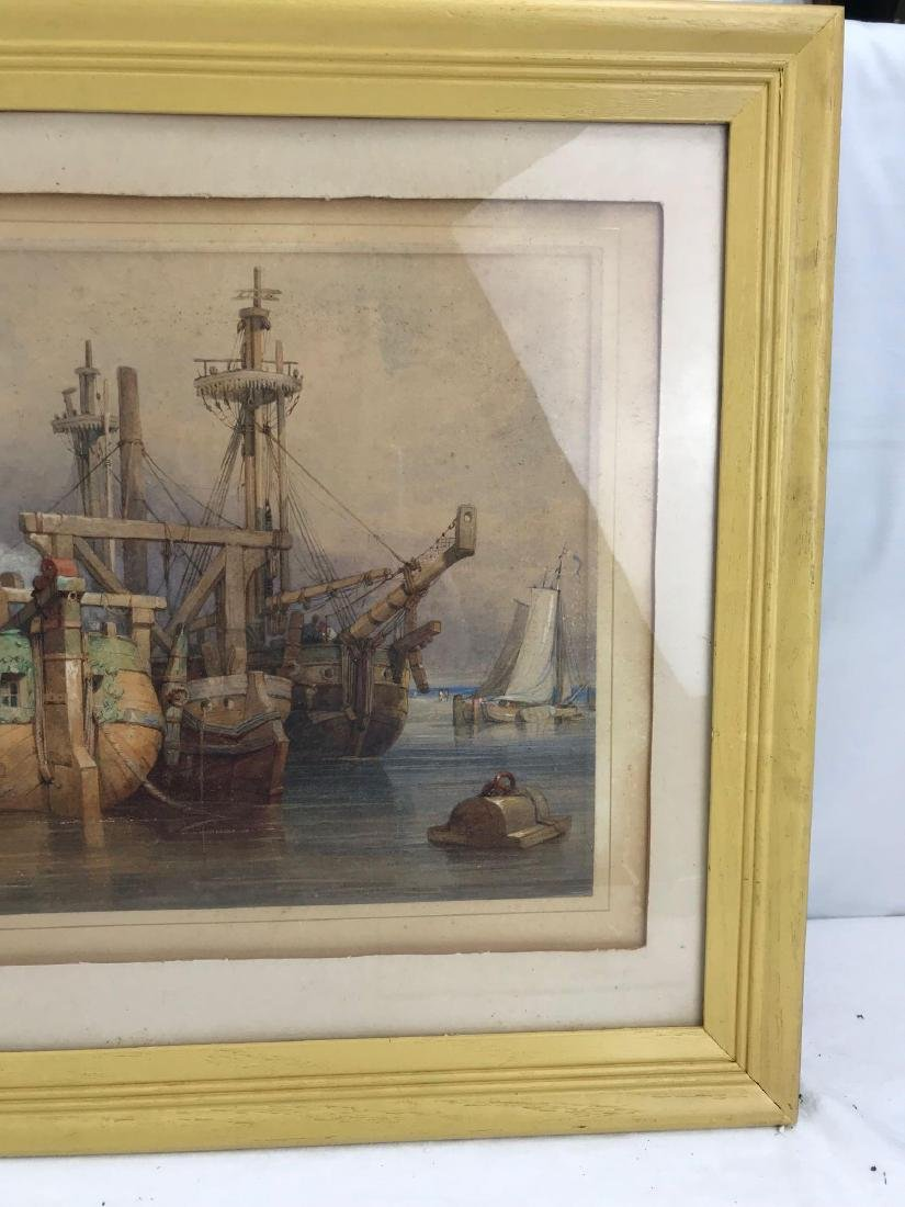 Original Clarkson Frederick Stanfield Watercolor - 4