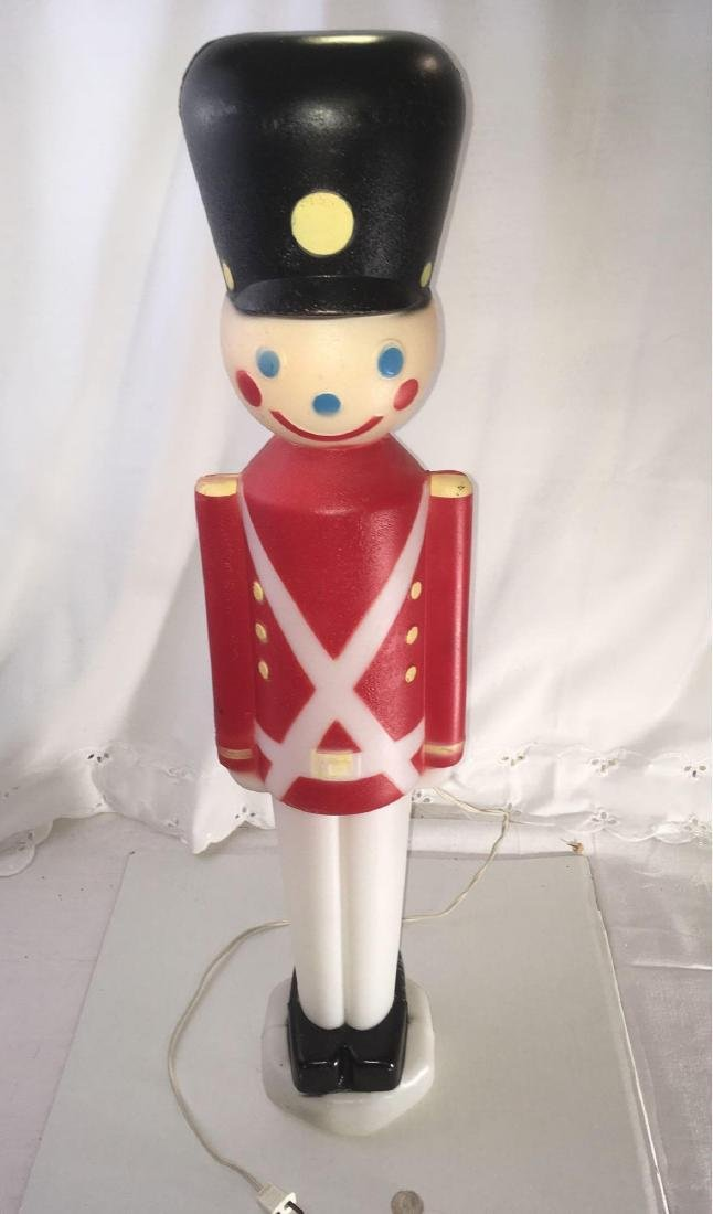 """Vintage Christmas 30"""" Light-Up Toy Soldier"""