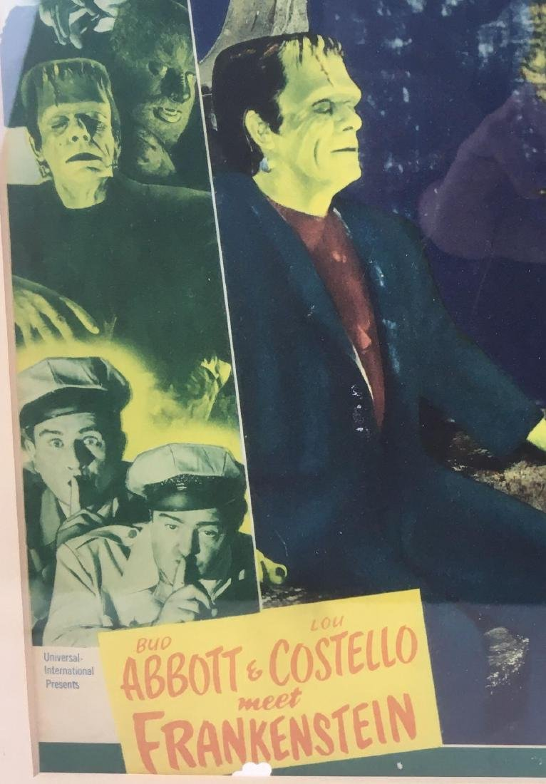 Original Abbot & Costello Film Lobby Window Card - 2