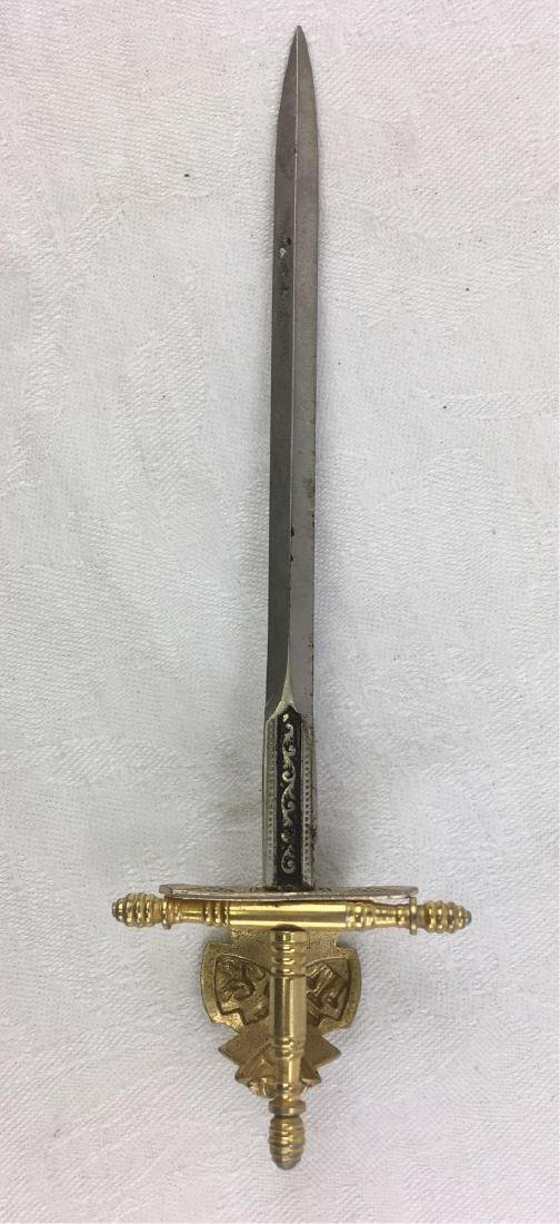 Vintage Condiment Serving Knife Forged In Historic