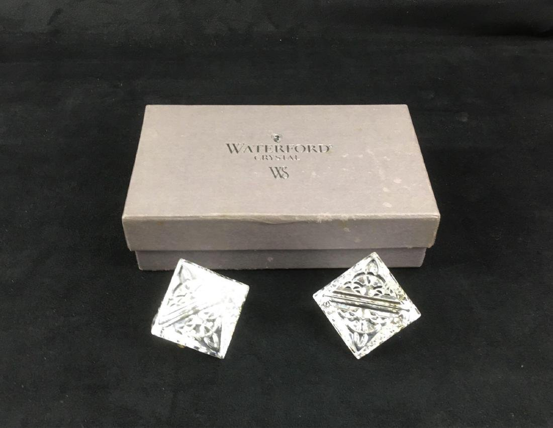 Waterford Crystal Placecard Holders