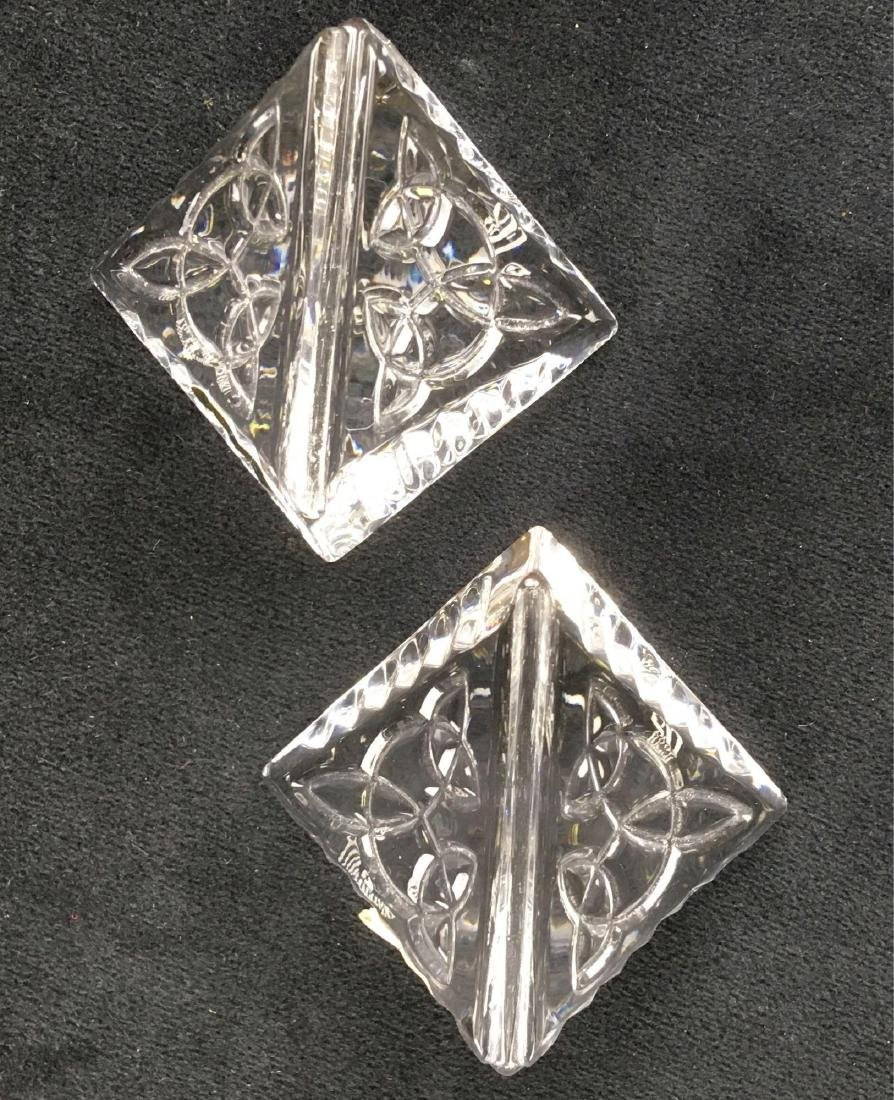 Waterford Crystal Placecard Holders - 5