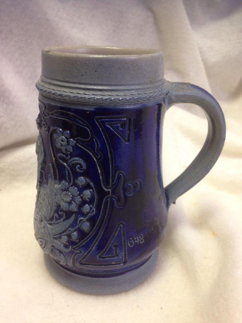Vintage German Salt Glazed Stoneware Beer Stein- lot 2