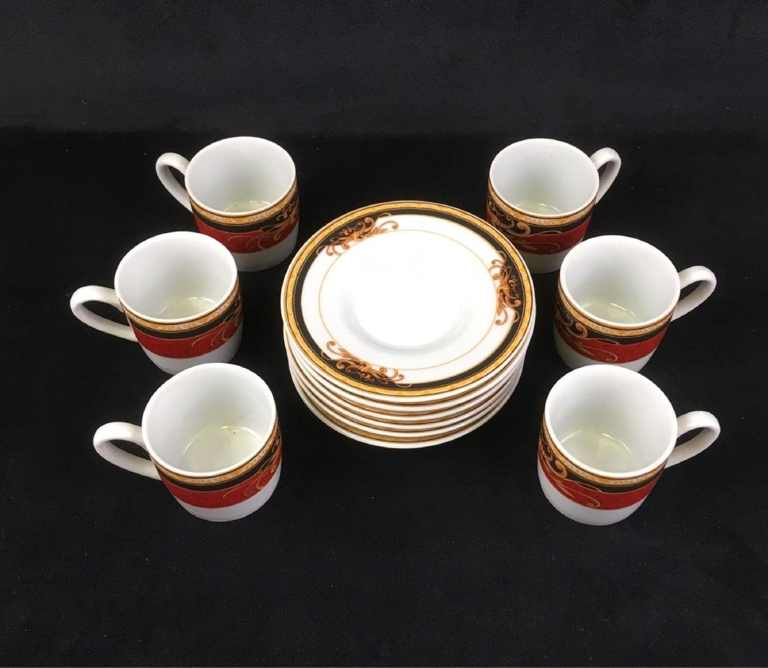Aiglon Set of Six Espresso Cups and Saucers - Feb 07, 2019 | Rapid