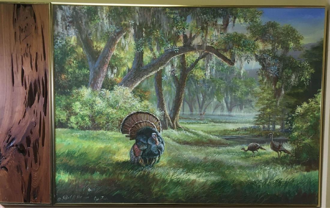 Robert Butler Jeb Bush Collaboration Painting