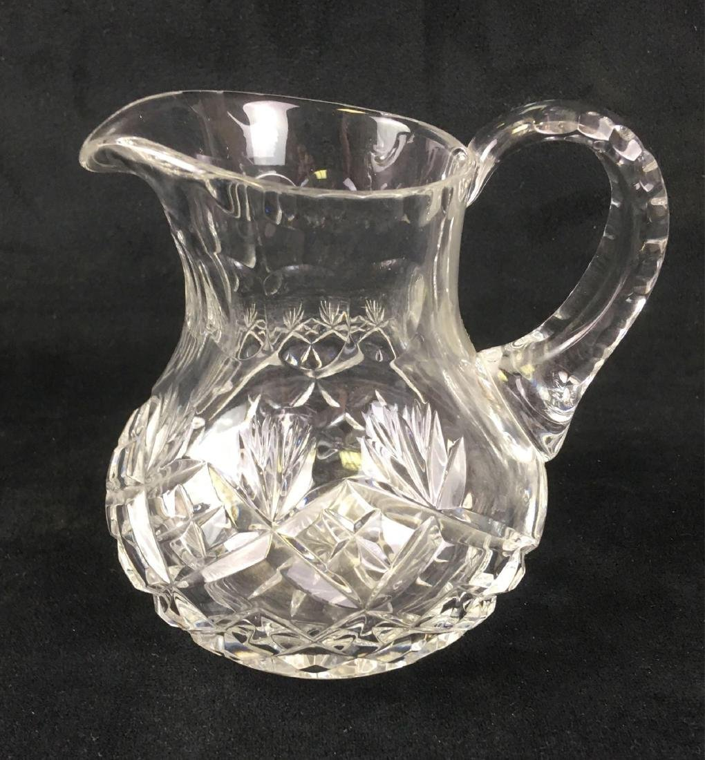 Waterford Small Pitcher Creamer