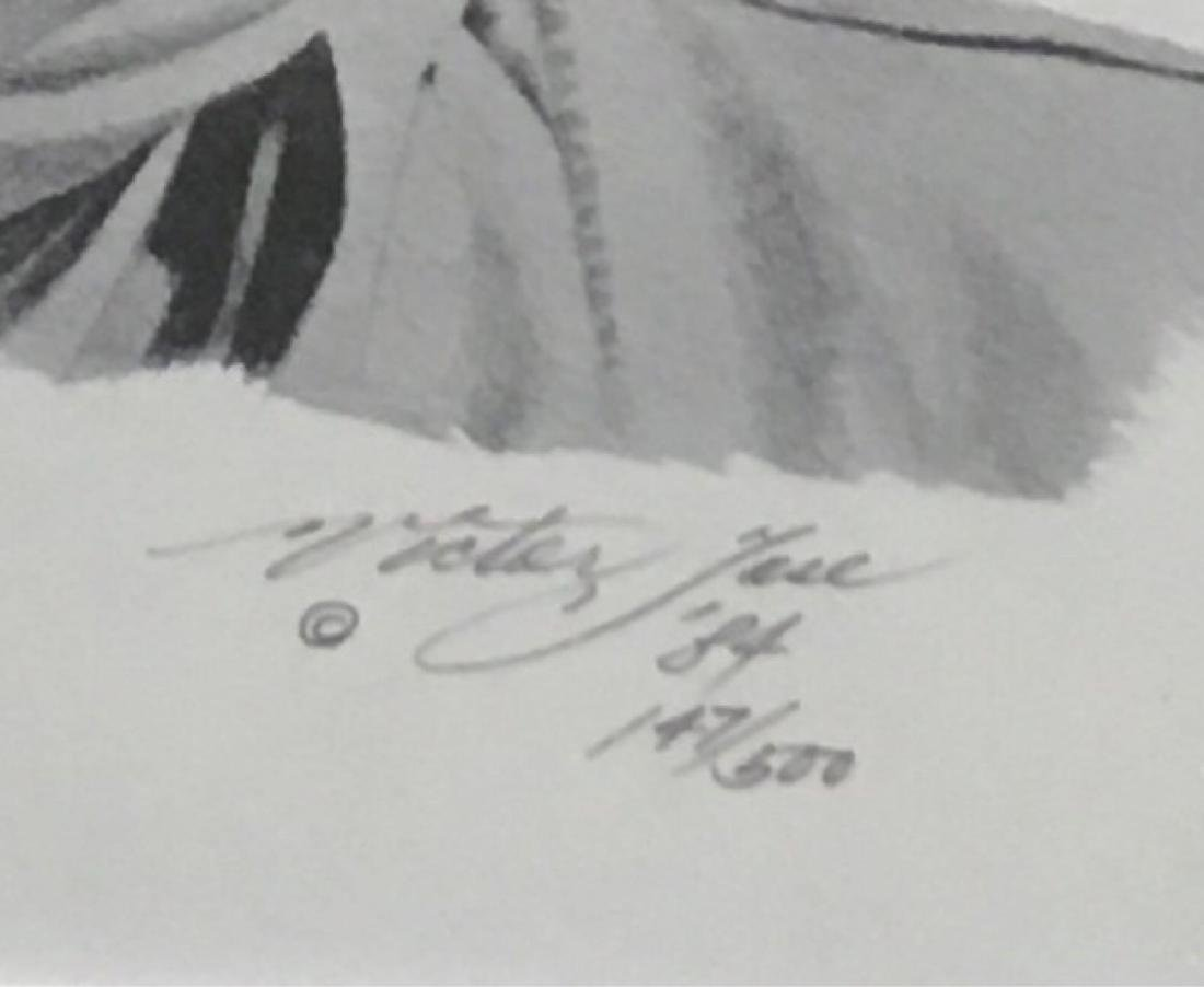 John Wayne Print Signed And Numbered by Victor Jose - 3