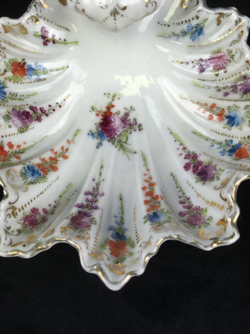 Vintage Scalloped Rim Porcelain Candy or Trinket Dish - 2