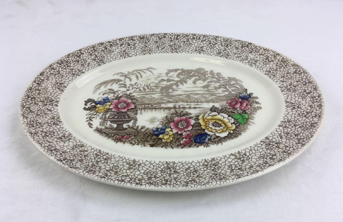 """Myott Staffordshire 16"""" Serving Platter - 2"""