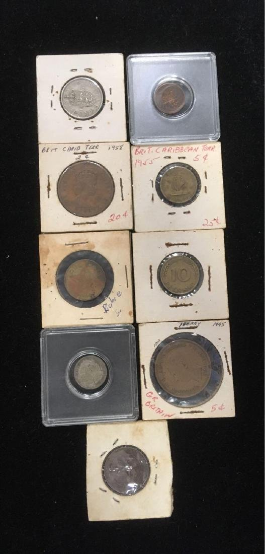 Coin Lot from Europe and the Caribbean - 2