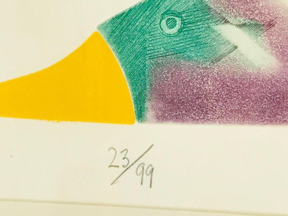 Abstract Flying Geese Color Print - 9