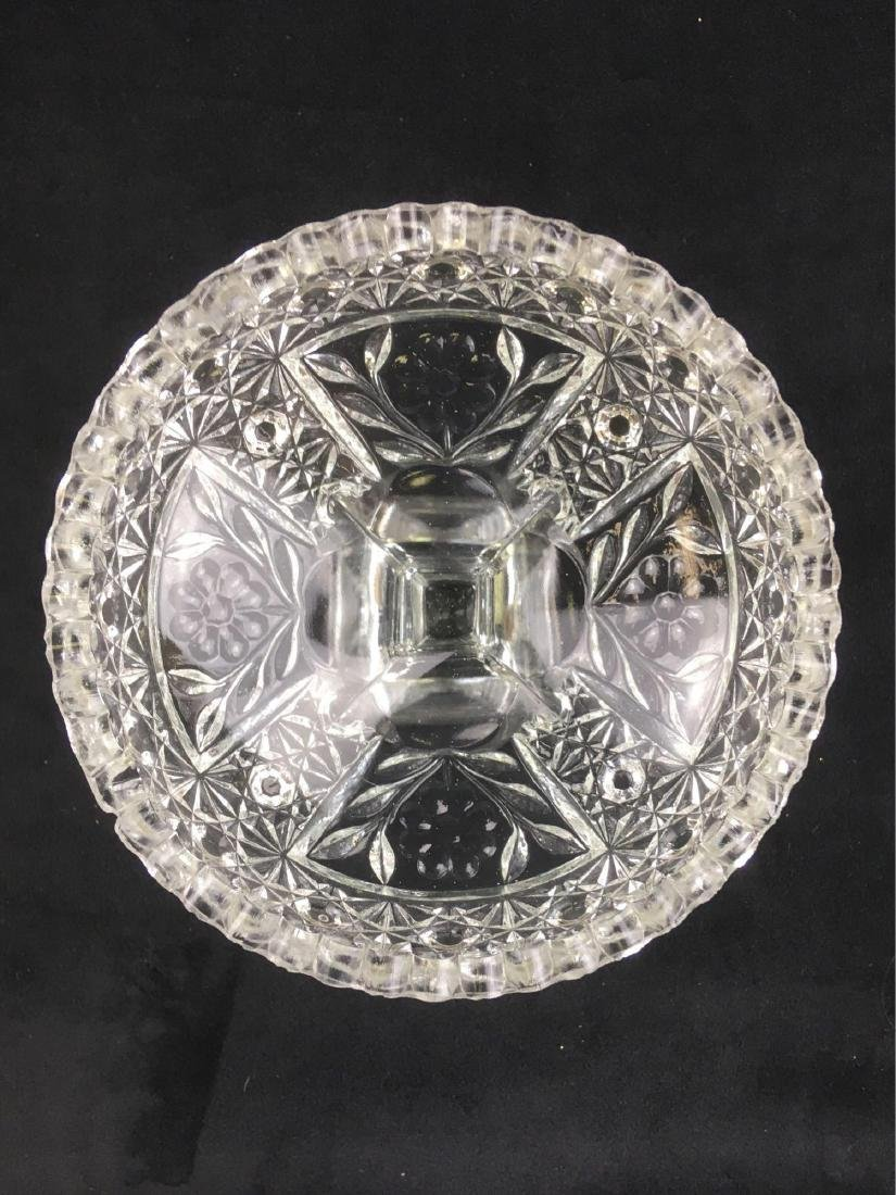 Vintage Glass Candy Dish - 4