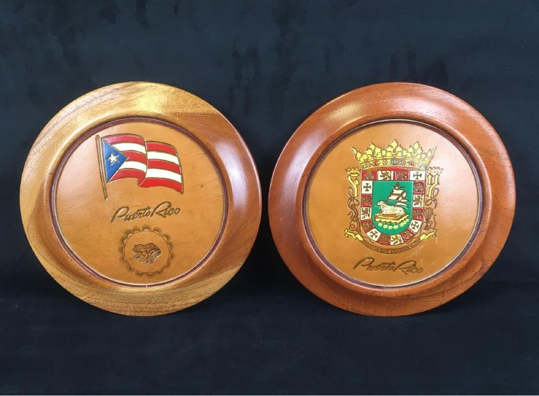 Puerto Rico Wood Wall Plaques