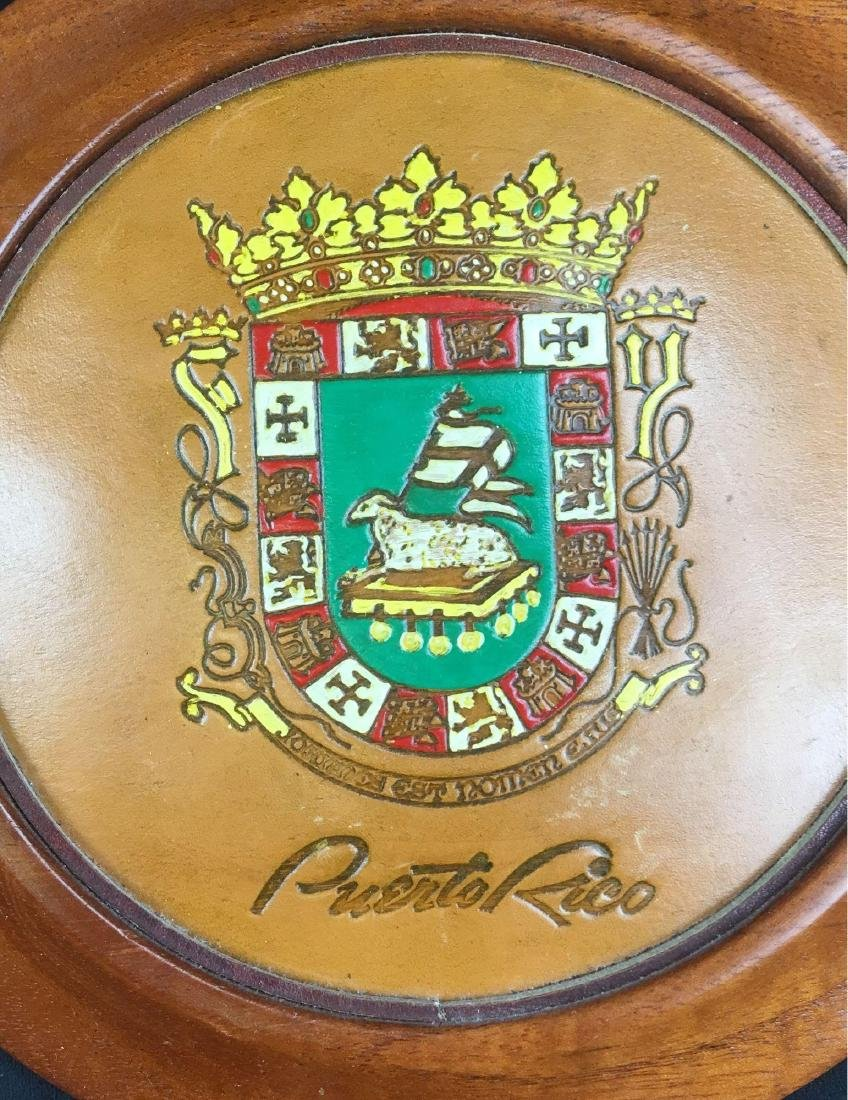 Puerto Rico Wood Wall Plaques - 2