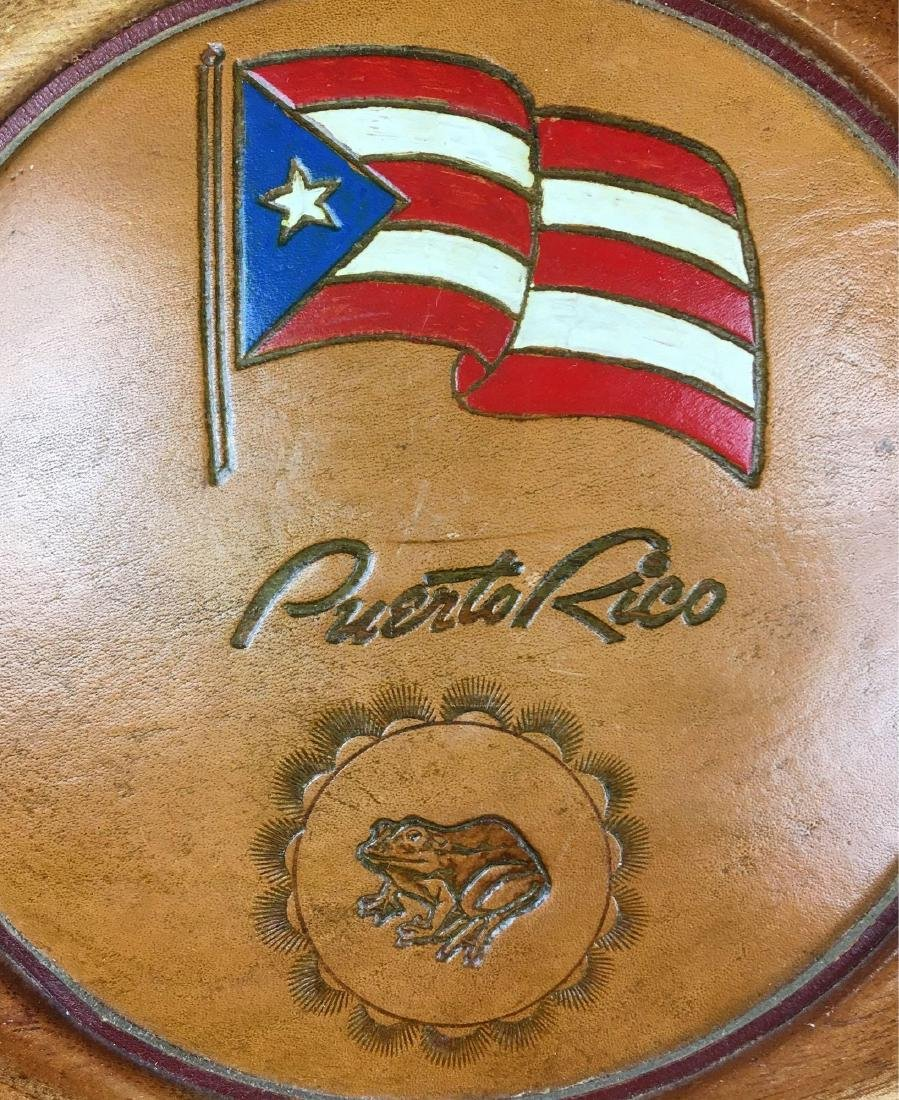 Puerto Rico Wood Wall Plaques - 3