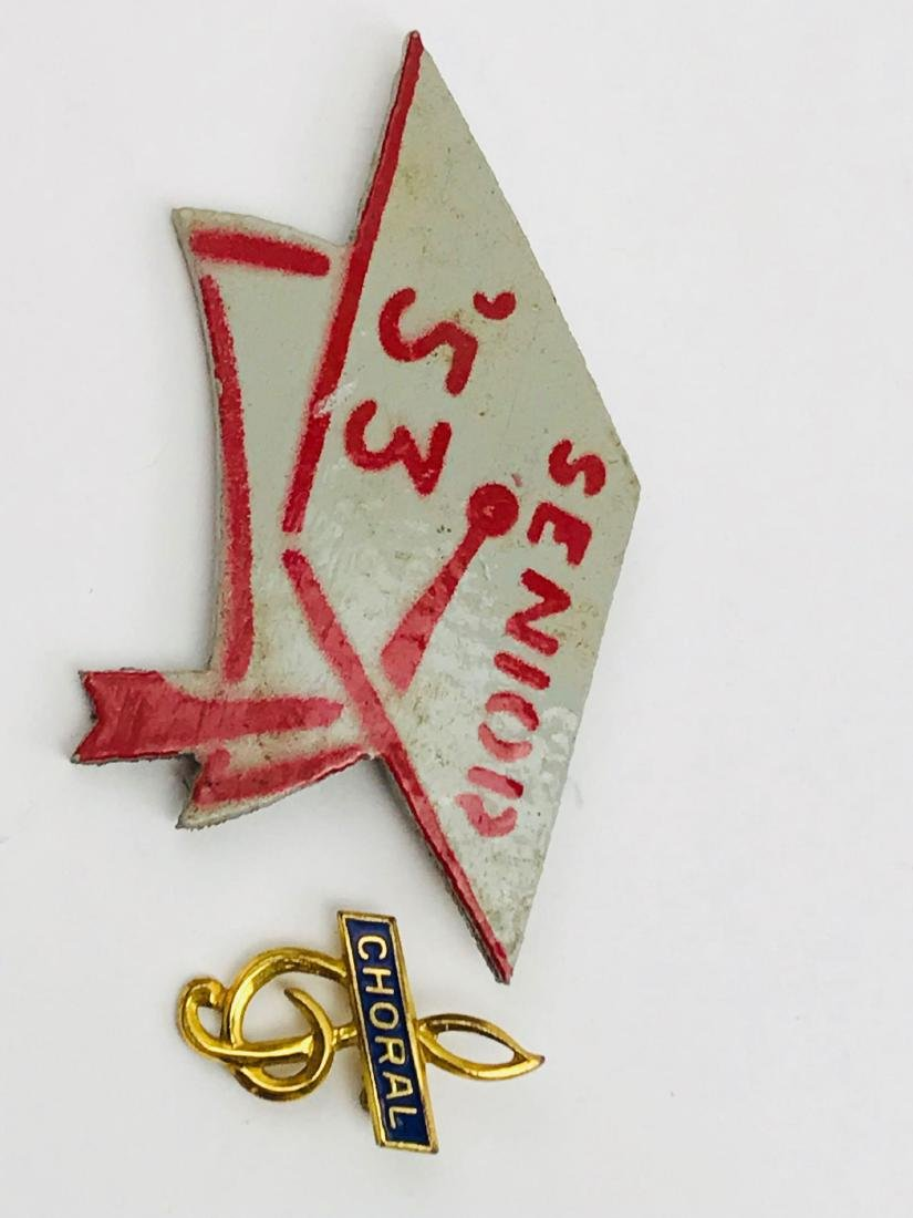 Vintage Graduation Pins - 3
