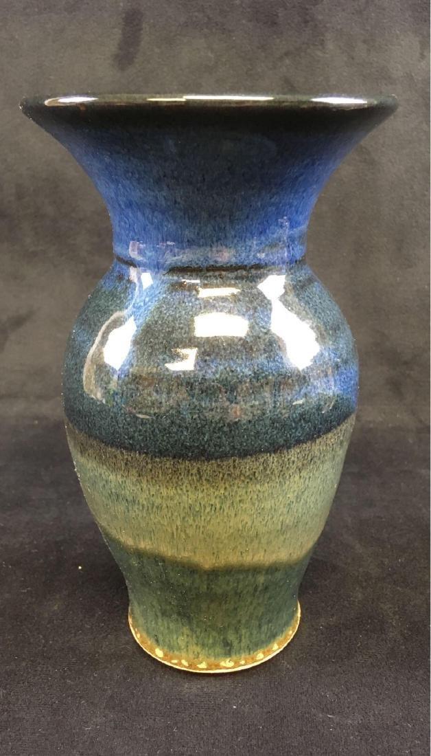 Art Pottery Earthenware Vase Signed