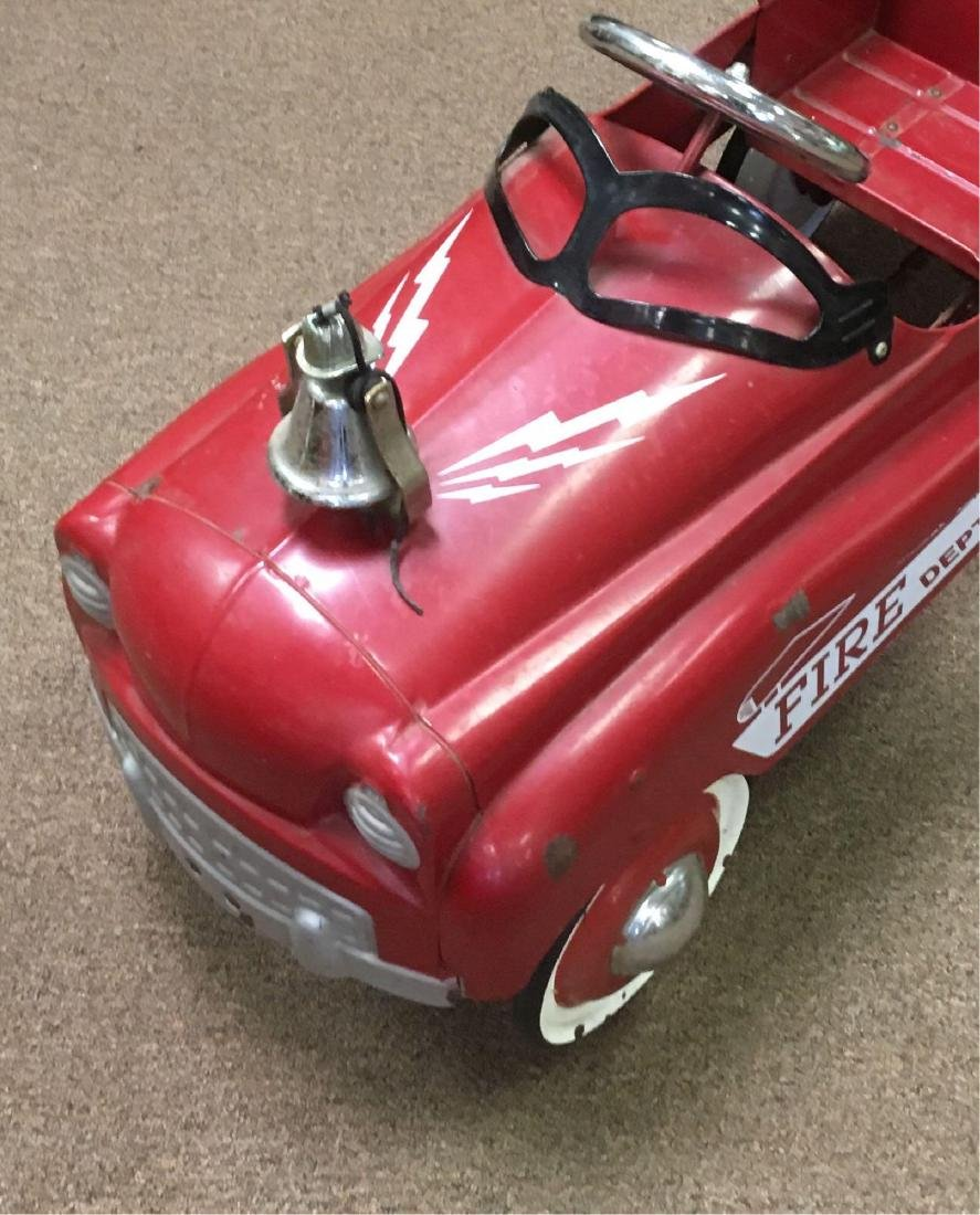 Child's Pedal Car Fire Engine