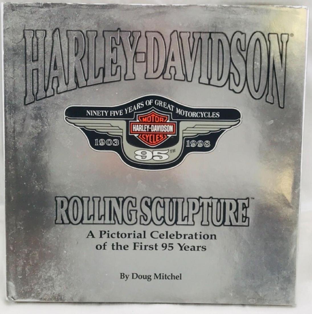 Harley-Davidson Rolling Sculpture Hardcover Book