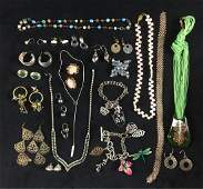 Vintage Bulk Costume Jewelry Lot