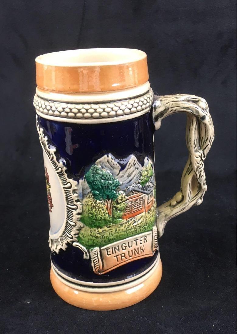 Vintage German Beer Stein Marked Heidelberg